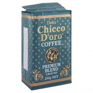 Delta Chicco Doro Premium Blend Ground Coffee