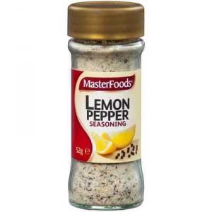 Masterfoods Seasoning Lemon & Pepper