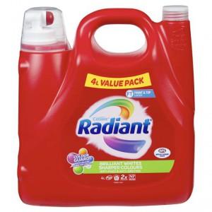 Radiant Brilliant Whites Sharper Colours Front & Top Loader Liquid