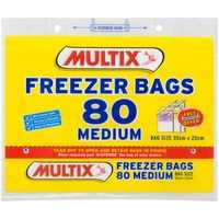 Multix Freezer Bags Medium Tear Off