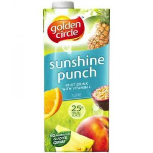 Golden Circle Sunshine Punch Fruit Drink
