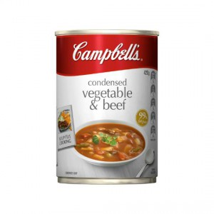 Campbells Canned Soup Vegetable & Beef