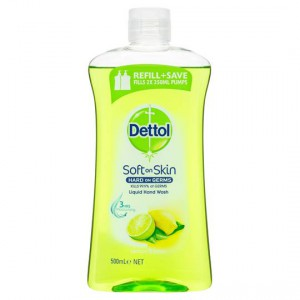 Dettol Liquid Hand Wash Refill Lemon & Lime