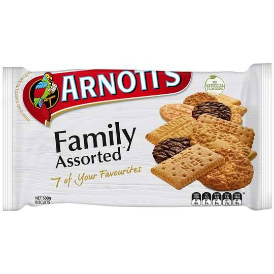 Arnott's Family Assorted