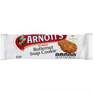 Arnott's Butternut Snap Cookie