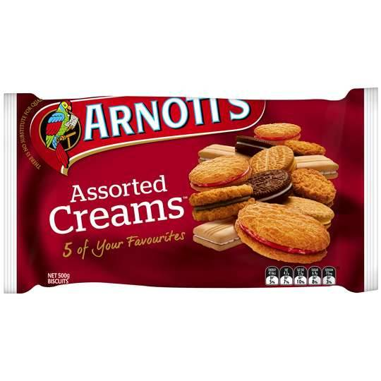 Arnott's Assorted Cream Biscuits