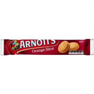 Arnott's Biscuit Orange Slice