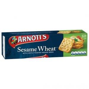 Arnott's Sesame Cracker Wheat