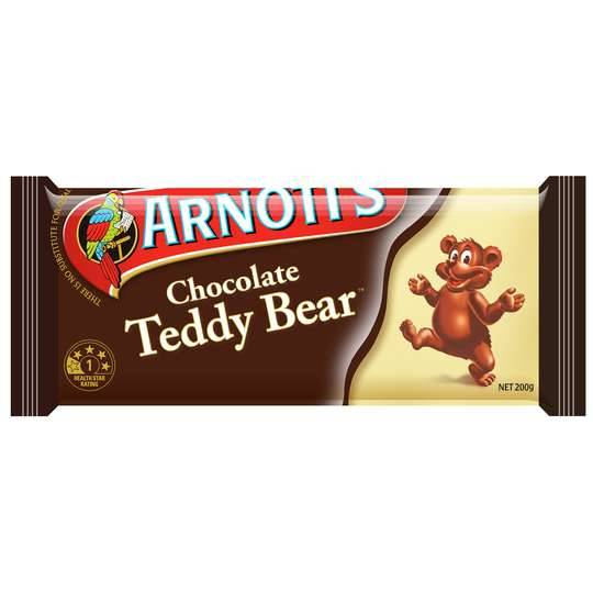 Arnott's Chocolate Teddy Bear