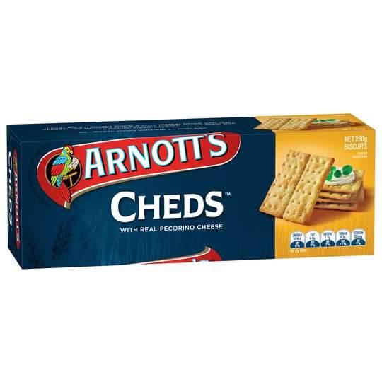 Arnott's Cheds