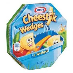 Kraft Cheddar Cheese Portions