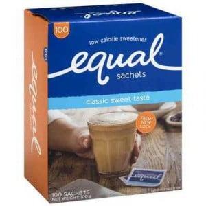Equal Sweetener Sachets
