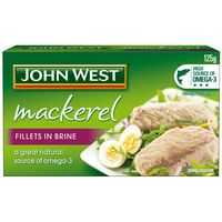 John West Mackerel Fillets