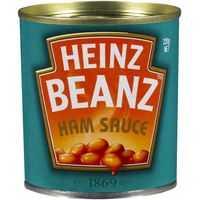 Heinz Baked Beans Ham Sauce