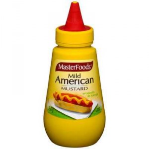 Masterfoods Mustard Mild American Squeeze