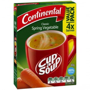 Continental Cup A Soup Spring Vegetable