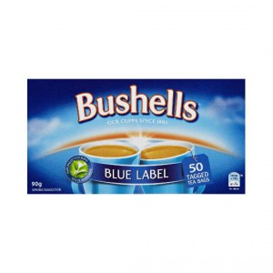 Bushells Blue Label Tea Bags Black