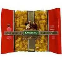 San Remo Spirals Large Pasta