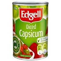 Edgell Capsicum Diced