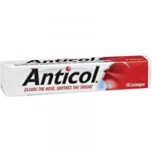 Anticol Throat Lozenge Vapour Action