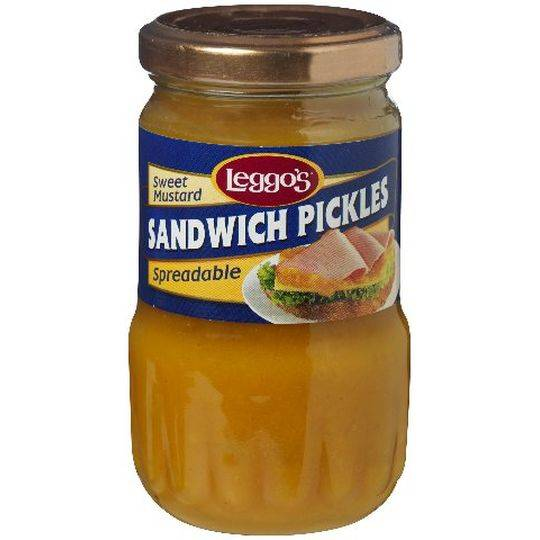 Leggos Pickles Mustard Spreadable