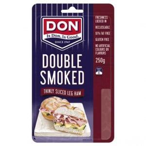 Don Ham Leg Double Smoked Shaved