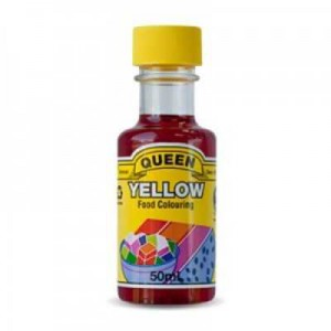 Queen Food Colouring Yellow