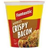 Fantastic Crispy Bacon Noodle Cup