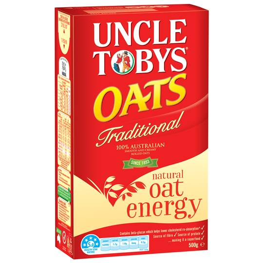 Uncle Tobys Traditional Oats