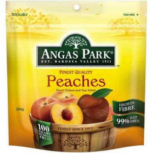 Angas Park Peaches Dried