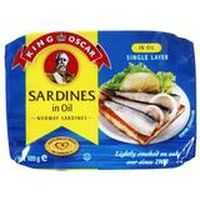 King Oscar Sardines In Soya Oil