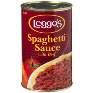 Leggos Pasta Sauce Spaghetti With Beef