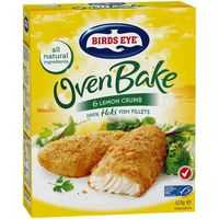 Birds Eye Oven Bake Crumbed Lemon