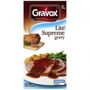 Gravox Gravy Mix Lite Supreme