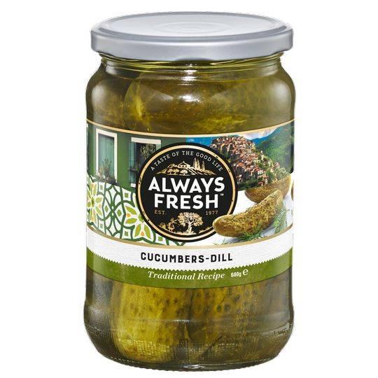 Always Fresh Cucumbers Dill