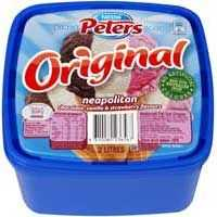 Peters Original Ice Cream Neapolitan