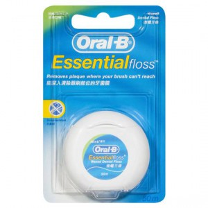 Oral-b Dental Floss Essential Waxed Mint