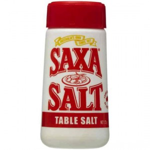 Saxa Table Salt Picnic Pack