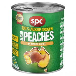 Spc Peaches With Mango Puree In Juice