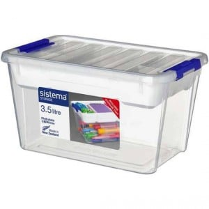 Sistema Storage With Tray 3.58l