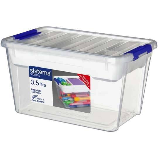 ~Loui~ reviewed Sistema Storage With Tray 3.58l