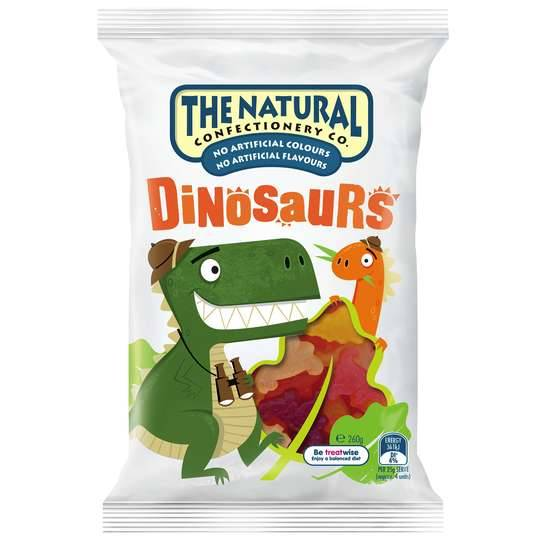 The Natural Confectionery Co Dinosaurs