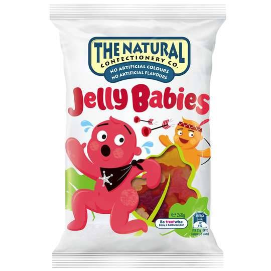 The Natural Confectionery Co Jelly Babies