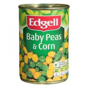 Edgell Mixed Vegetable Baby Peas & Super Sweet Corn