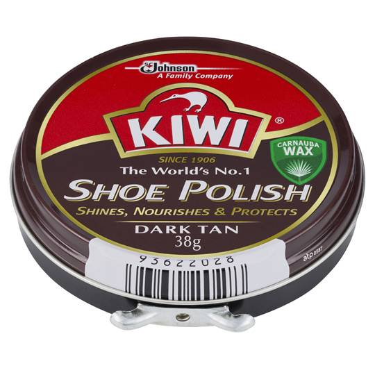 Kiwi Shoe Care Polish Dark Tan