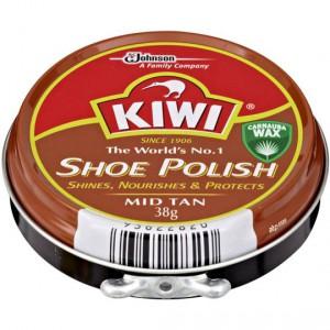 Kiwi Shoe Care Polish Mid Tan