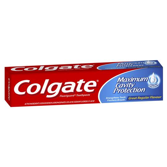 Colgate Toothpaste Fluoride Great