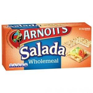 Arnott's Salada Wholemeal