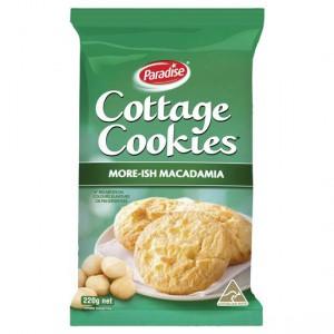 Paradise Cottage Cookies Macadamia