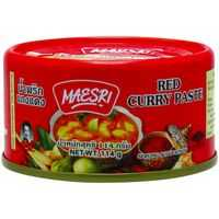 Maesri Paste Red Curry